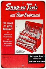 1967 Snap On Tools Catalog Vintage Look Reproduction Metal Sign 8x12 8121630