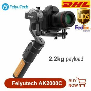 DHL Feiyu AK2000C Stabilizer Handheld Gimbal 2.2 kg For DSLR Mirrorless Cameras