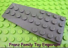 LEGO (Old) Dark Gray 4x9 Wedge PLATE Star Wars 10129 Flat Brick Part Piece EUC
