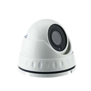 5MP iSentry HD-TVI / AHD (4MP CVI) 3.6mm lens CCTV Mini Dome Camera in White