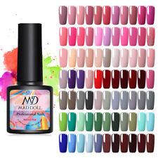 MAD DOLL 81 Colors UV Gel Nail Polish Soak Off Gel Varnish Top Base Coat 8ml