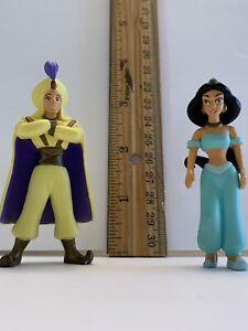 Aladdin Jasmine Disney Princess Prince Ali Set Figure Cake Toppers
