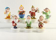 Schneewittchen und die 7 Zwerge === Walt Disney 7 Figuren Nestle Topper