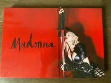 Madonna VIP-Tour Book of the Rebel Heart Tour MINT NEVER OPENED