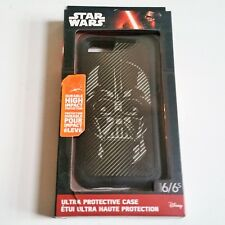 Disney Star Wars Darth Vader Hard Shell Case for iPhone 6 6s Black New