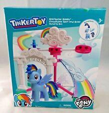 TinkerToy - Rainbow Dash Cloudsdale Spin & Soar Building Set 34pcs New