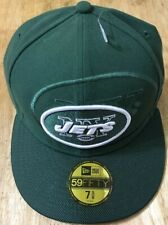 NWT New York Jets NFL New Era 5950 59Fifty fitted hat cap size 7 5/8 $35 Retail