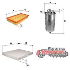 Set M: Kraftstofffilter+Luftfilter+Innenraumfilter Filtersatz AUDI SEAT SKODA VW