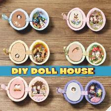 Miniature DIY Doll House Handcraft Furniture Forest Wedding Kit Birthday Gift