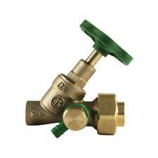 Messing Schrägsitzventil Lötmuffen 15 mm mit Entleerung Absperrventil Angebot