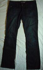 Hudson Womens Dark Wash Flap Pocket Bootcut Jeans Size 27 x 34