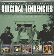 SUICIDAL TENDENCIES / ORIGINAL ALBUM CLASSICS * NEW 5CD SET * NEU *