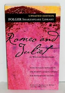 Romeo and Juliet Folger Shakespeare Library Book Mass Market Paperback 2011