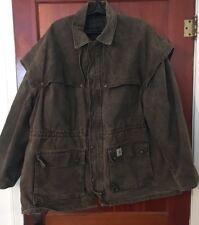 Men's Carhartt Coat Carhartt Jacket Sz XXL Carhartt Outback Swagman Style Duster