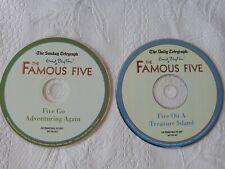 Enid Blyton (Famous) FIVE 2 x Audio Book CD Daily Telegraph