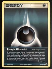 Carte Pokemon ENERGY / Energie Obscurité 93/109 Rare Rubis & Saphir FR NEUF