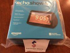 Amazon Echo Show 5 - Charcoal black Alexa Smart Assistant Speaker NEW