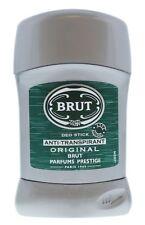 3 x Brut Original Mens Deodorant Deo Stick Anti-Perspirants 50ml