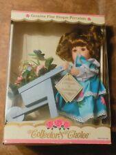 "genuine fine bisque porcelain doll collectors choice dandee 9"""