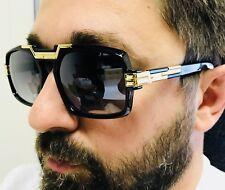Gazelle Rectangle Aviator Gold Metal Bar Men Women Designer Fashion Sunglasses