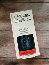 CND Shellac Peacock Plume 100% Original Made in USA Kit Set Top