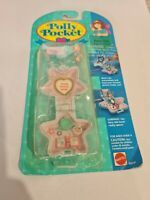 NIB Vintage Polly Pocket BlueBird 1993 Fairy Spells Locket Necklace NEW COMPLETE