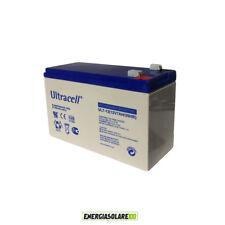 Batteria AGM 7AH 12V Ultracell Serie UL x allarme Gruppo Continuità UPS Solare