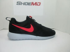 ffd6c589d8ddb NIKE ROSHE ONE 511881 039 US SIZE 11 UK 10 EUR 45 BLACK SOLAR RED