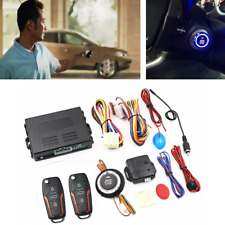 Auto Car Alarm Smart Keyless Entry Ignition Push Button Starter Remote System