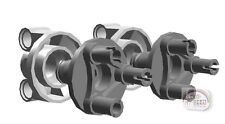 LEGO Technic - 2 x Steering Axle Kit w/2 Pin Holes - LBG - New - (EV3,NXT,Hub)
