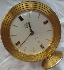 Jaeger LeCoultre Recital big alarm 8 days desk clock 10,5 cm. in diameter