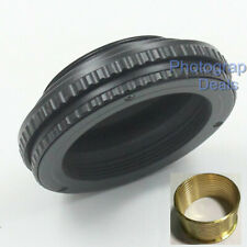 M42 to M39 10mm-15mm Adjustable Focusing Helicoid Adapter 10-15mm Macro Tube