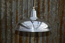 BEAUTIFUL VINTAGE STYLED POLISHED METAL CEILING LIGHT HANGING LAMP SHADE NASR4