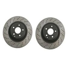Set of 2 Disc Brake Rotor Mercedes-Benz S500 CL600 S600 CL55 AMG S55 AMG