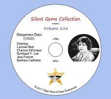 "DVD ""Dangerous Days"" (1920) Classic Silent War Drama"