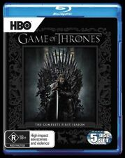 Game Of Thrones : Season 1 (Blu-ray, 2012, 5-Disc Set)