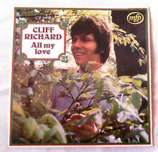 33 TOURS CLIFF RICHARD ALL MY LOVE avec languette MFP 5161 FRENCH ORIGINAL LP