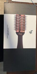 L'ANGE Lange Le Volume 2-in-1 Volumizing Brush Dryer 60mm New Black Rose Gold