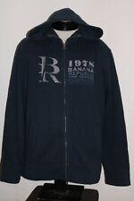 BANANA REPUBLIC Mens Large L zip-up hoodie/hooded Sweatshirt