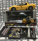 Transformers Takara Binaltech Yellow Tracks BT-06 1:24 Chevy Corvette Die Cast