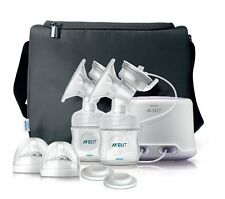 NEW Philips Avent SCF334 Comfort Double Electric Breast Pump