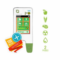 Greentest Eco5 3-in-1 Radiation Geiger Counter + Nitrate Tester + water hardness