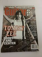 Guitar One Magazine July 2002- Tommy Lee, Jerry Cantrell, Slipknot, Earshot