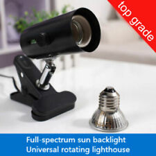 Pet Reptile TURTLE Heating LAMP Replaceable Sunlight UVB BULB 25W 50W 80W 100W