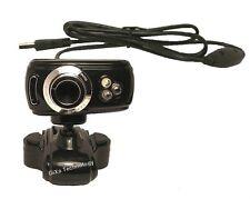 WD100 16MP HD PC Desktop Laptop Notebook Webcam Kamera mit Nachtlicht SKYPE MSN