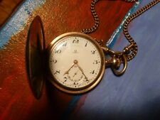 Vintage OMEGA Pocket Watch with orig. chain.  Good working condition. Classic!!!
