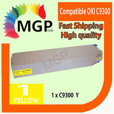 1x Yellow Compatible Toner cartridge for OKI C9300 C9500 9300 9500 Color Printer