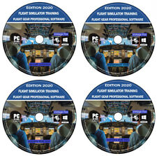 Simulateur de vol 2020 FORMATION PILOTE SIM FlightGear PC WINDOWS & MAC OSX 4x D...
