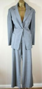 VIVIENNE WESTWOOD RED LABEL 46 Tailored Wool Jacket Bootcut Trousers Suit