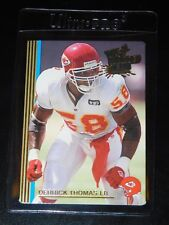 1993 ACTION PACKED THE ALL MADDEN TEAM DERRICK THOMAS CARD #6 (Mint)